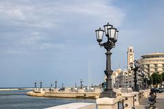 IMG_2785.jpg (Bri74) Tags: architecture bari landscape lungomarearaldodicrollalanza puglia sea streetlight