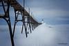 Frozen Sentry (Peeblespair) Tags: northernmichigan peeblespairphotography manistee lighthouse coastal winterscene snowscene snow ice frozen michigan lakemichigan peeblespair freezing cold white