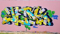Jeds... (colourourcity) Tags: streetart streetartnow streetartaustralia graffitimelbourne graffiti bunsen burner letters wildstyle awesome nofilters colourourcity bomb jeds ci 39