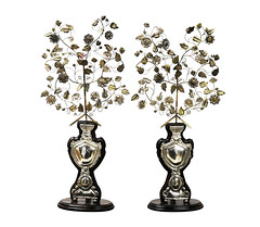 Ramilletes (a pair) (Leo Cloma) Tags: philippines leon gallery auction art antique antiques furniture cloma