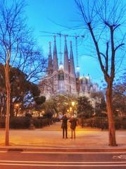 Watching Sagrada Familia at dusk - Barcelona, Spain - 25 February 2011 . . . #winter2010 #barcelona #sagradafamilia #sagradafamília #Catalonia #catalunya #españa #Spain #cathedral #gaudi #gaudí #underconstruction #february2011 #25february #25february2011 (paulmcnam) Tags: spain catalunya gaudi españa catalonia sagradafamilia 25february2011 mybarcelona winter2010 dusk barcelona cathedral sagradafamília underconstruction gaudí 25february february2011