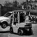 Karachi: Unconventional towing service