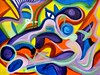 Phoenix Swirl (MattCrux) Tags: psychedelic lsdtrip acid abstract trippy colorful rainbow lsd strange weird drug drugs weed high trip love acrylic painting acrylicpainting traditional canvas paint painted artist drawing illustration art arts expressive different beautiful artsy creativity creative