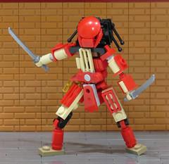 Ever Dance With the Devil? (Grantmasters) Tags: predator bigred aliens dc batman samurai lego moc
