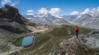 Swiss Alps the Matterhorn