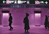 . (m_travels) Tags: lomography japan tokyo film photography street people ginza analog lomochromepurplexr400 35mmfilm metro subway mood urban candid smcpentax50mmf12 pentaxkm