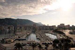 Le port de Toulon dans mon objectif !!!
