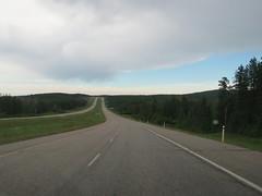 Gloomy, cloudy weather on Hwy 16 between Hinton and Edson (jimbob_malone) Tags: 2017 highway16 alberta
