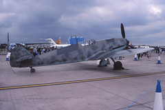 Messerschmitt Bf109G (Pentakrom) Tags: fairford riat 2003 messerschmitt me109 bf109