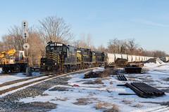 W&W CM-10 @ Bridgeton, NJ (Dan A. Davis) Tags: ww winchesterandwestern freighttrain railroad shortlinerailroad newjersey nj fairton bridgeton gp9 cm10