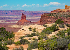 Candlestick Tower (dmhyde11) Tags: canyonlandsnationalpark nps utah moab vista overlook extreme hiking redrock arid