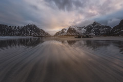 Flakstad beach (Toni_pb) Tags: landscape lofoten norway noruega north artic arena arenanegra blacksand sand reflection reflejo minimalist mystic mountain montaña mistico seascape sky sea nikon nikkor1424f28 naturaleza nature nubes clouds water waterscape wild winter winterscape d810 paisaje
