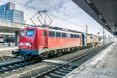 115 261-0 DB Ferverkehr Pbz Hannover Hbf 10.02.18_ (Paul David Smith (Widnes Road)) Tags: 1152610 db ferverkehr pbz hannover hbf 100218 e10 br110