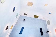 Richard Boesch At VMB (macplatti) Tags: xt2 xf1855mmf284rlmois richardboesch richardbösch painter exhibition vmb vorarlbergmuseum paintings art kunst ausstellung tafel gemälde schatten sunshine window fenster licht blau gelb rot blue yellow red bregenz vorarlberg austria aut