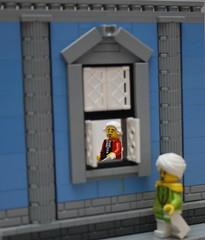 You did WHAT?! (Beorthan) Tags: fletcher kingsharbour wtc lego eurobricks bobs corrington