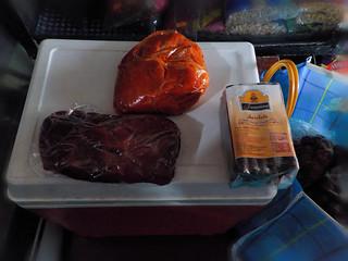Cecina, cecina enchilada y chocolate oaxaqueño.