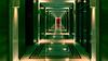 the red door (kyramas) Tags: k3ii pentax sigma1770 hallway matrix red door green orange architectural light pentaxart