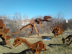 Dinosauriformes (Tomitheos) Tags: rust sculptures dinosaurs ichthyosaurs mosasaurs plesiosaurs pterosaurs spinosaurids semiaquatic microraptorgui awingedtheropod apatosauruslouisae agiantsauropod edmontosaurusregalis aduckbilledornithopod triceratopshorridus ahornedceratopsian stegosaurusstenops aplatedstegosaur pinacosaurusgrangeri anarmoredankylosaur dinosauriformes jurassicpark reptiles taxonomic morphological bipedal triassic cretaceous theropods fossils skeletons castiron quadrupedal tyrannosaurus triceratops edmontosaurus santanaraptor corythosaurus velociraptor allosaurus brachiosaurus giganotosaurus ankylosaurus carnotaurus diplodocus tyrannosaurusrex brontosaurus dilophosaurus pteranodon parasaurolophus apatosaurus mosasaurus tarbosaurus prerodactyls megalodon carcharodontosaurus dinopedia spinosaurus skeletonartifact