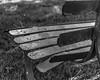2653029 (agianelo) Tags: metal park bench paint peeling monochrome bw blackandwhite