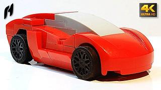 How to Build the Lamborghini (Update Version - 4K)