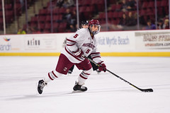 UMass hockey v Northeastern 011918-17 (dailycollegian) Tags: umass amherst hockey university massachusetts mullins center northeastern team celebration win caroline oconnor