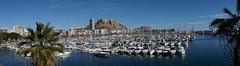 Puerto de Alicante. Castillo de Santa Bárbara (carpomares) Tags: