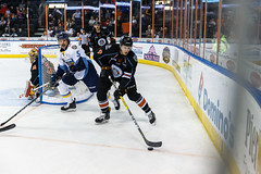 "Kansas City Mavericks vs. Toledo Walleye, January 19, 2018, Silverstein Eye Centers Arena, Independence, Missouri.  Photo: © John Howe / Howe Creative Photography, all rights reserved 2018. • <a style=""font-size:0.8em;"" href=""http://www.flickr.com/photos/134016632@N02/25965928538/"" target=""_blank"">View on Flickr</a>"