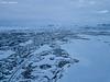 The lake (Daniel Moreira) Tags: mývatn lake pseudocrater rootless vent ice icy snow road hringvegur mountains clouds iceland icelandic ísland islândia islande islanda drone dji mavic mavicpro aerial from above air
