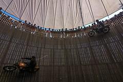 Different way (kailas bhopi) Tags: wellofdeath adventure circus thrillingmoment thrill bikestunt mautkakuwa nikon7200 fair