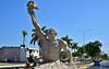 Yucatan 2 (orientalizing) Tags: campeche concrete derelict desktop featured mayan mexico monumental northamerica postcolonial sculpture victory yucatan