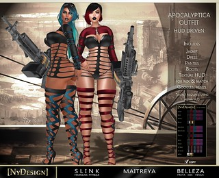 [NyDesign] Apocalyptica Outfit - HUD Driven_Event Exclusive