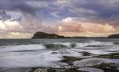 0S1A0359 (Steve Daggar) Tags: pearlbeach nswcentralcoast gosford woywoy seascape landscape longexposure sunset