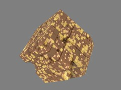 Mengerized Rhombic Dodecahedron (fdecomite) Tags: fractal rhombic dodecahedron
