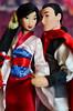 Mulan (Lindi Dragon) Tags: doll disney disneyprincess disneystore dolls mulan mushu li shang china