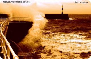 Sea crash , Wales