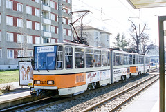 GER_325_200403 (Tram Photos) Tags: gera tram tramway strasenbahn ckd tatra kt4d gvb