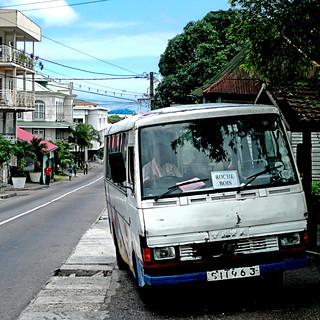 Bus to Roche Bois - Seychelles