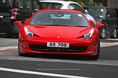 Ferrari, 458 Italia, Luk Keng, Hong Kong (Daryl Chapman Photography) Tags: rr708 ferrari 458 italia hongkong china sar canon 5d mkiii 70200l italian car cars carspotting carphotography auto autos automobile automobiles