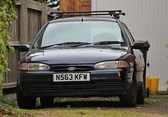 N563 KFW (Nivek.Old.Gold) Tags: 1995 ford mondeo 18 16v lx estate