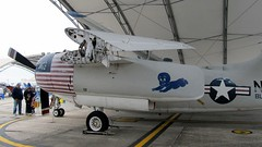 """Grumman C-1A Trader 4 • <a style=""""font-size:0.8em;"""" href=""""http://www.flickr.com/photos/81723459@N04/26695929168/"""" target=""""_blank"""">View on Flickr</a>"""