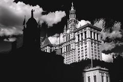 New York City Hall (kareszzz) Tags: nyc usa ny newyork blackwhite