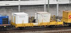 2017-08-16_5729 Ks 21 85 330 0 851-0 Eiffage Rail werkzaamheden Schiedam (III) (Peter Boot) Tags: ks 218533008510 eiffage rail schiedam plattewagen plattewagon cherd nederland railinfra