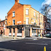 HOMELESS OUTSIDE A PUBLIC HOUSE IN GRANGEGORMAN [THE BARBERS PUB AND BARBER SHOP]-137300