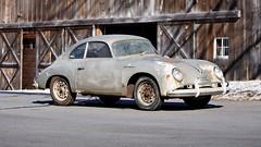Barnfind Rusty 1957 Porsche 356A 1500 GS Carrera (themotormasters) Tags: barnfinds porsche 1957 356a 1500 gs carrera rusty gold gooding company