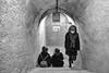 L'ingresso al Bunker (drugodragodiego) Tags: brescia art arte exhibition bunker stair lombardia italy cemento tunnel blackandwhite blackwhite biancoenero bw pentax pentaxk1 k1 pentaxdfa2470mmf28 hdpentaxdfa2470mmf28edsdmwr