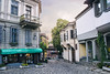 Old Town (gabril.avramov) Tags: street house old pavement town bulgaria plovdiv pavet