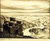 Cattolica di Stilo, Calabria (1930) -   Maurits Cornelis Escher (1898 - 1972) (pedrosimoes7) Tags: mauritscornelisescher escher theescherfoundationcollection museudeartepopular lisbon portugal artgalleryandmuseums