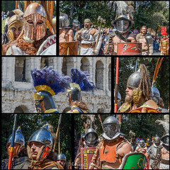21 aprile 2013, Roma sfilata storica (adrianaaprati) Tags: warriors historicalparade procession people weapons youth shields helmets rome