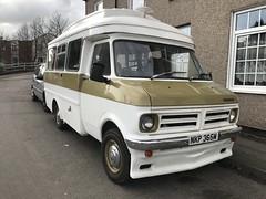 Bedford CF (Sam Tait) Tags: bedford cf van classic vintage retro camping camper beige 1973