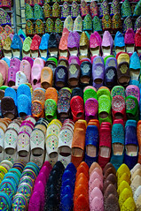 Colours of Morocco (Bokeh & Travel) Tags: color colour colorfull morocco kingdomofmorocco leather shoes slippers traditional beautiful artisans fez marakesh